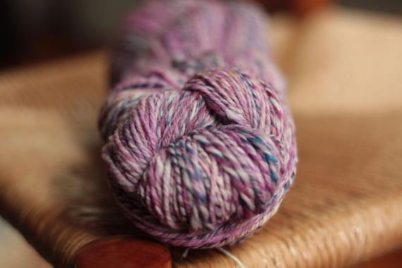 RESERVED for KENDRA - Handspun Merino Yarn - Speckled