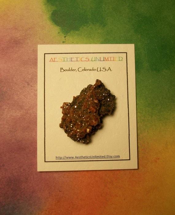 VANADINITE Natural Crystal Cluster Mineral Specimen From Morocco Sale