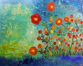 New Poppies -print