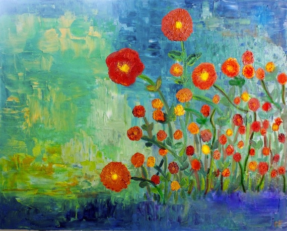 New Poppies -print