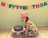Happy Birthday Banner - Girlie