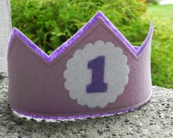 Lovely Lavender Birthday Crown