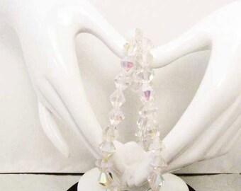 Pink 6mm AB Bicone Beads   Jewelry Bead Crystal Bead Jewelry Bead Supply