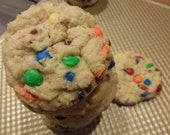 Mini M&M Sugar Cookies