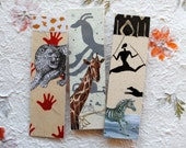 Cave Painting Bookmarks Set of 3
