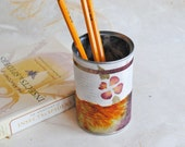 Papered Pencil Holder - Burgundy Beauty - Medium