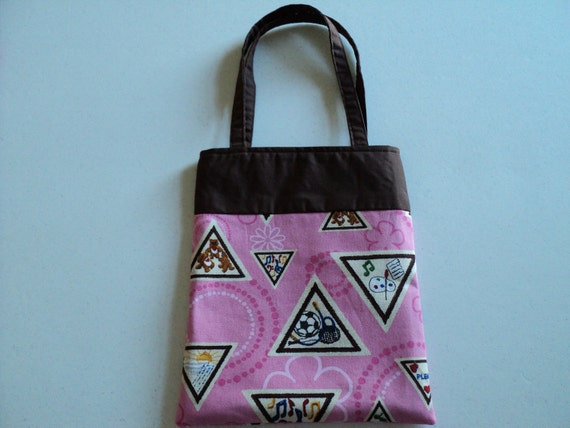 Fabric Gift Tote/Bag - Girl Scouts
