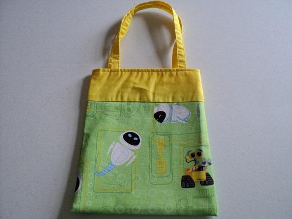 Fabric Gift Tote/Bags - Wall E