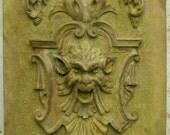 victorian gargoyle plaque