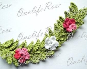 Crochet Leaves