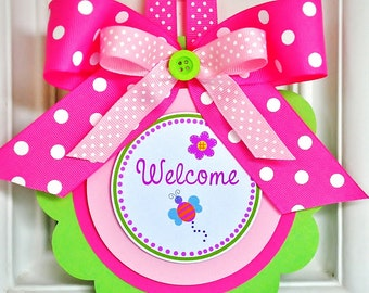 Hugs & Stitches Door Sign, Vertical Door Hanger, Hugs and Stitches Birthday Party