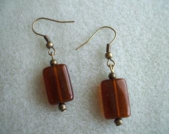 Nuggets of Chocolate Earrings