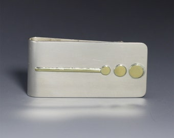 Money Clip- Sequence 14K (made to order)