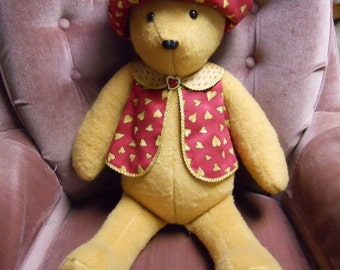Bear with Hat and Vest