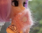 Pink - Cowl for your Blythe, Pullip or other fashion doll
