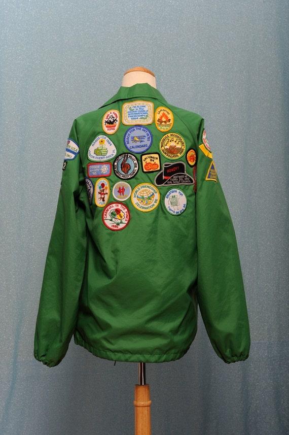 Green Drawstring Jacket