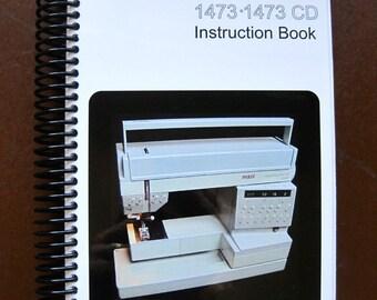 Pfaff 1473 & 1473CD Sewing Machine Manual - Electronic Copy