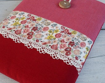Laptop Sleeve Case Cover  for 13 inch macbook air/ linen/ pocket