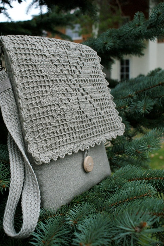 iPad Sleeve Case Bag /padded/ linen/strap