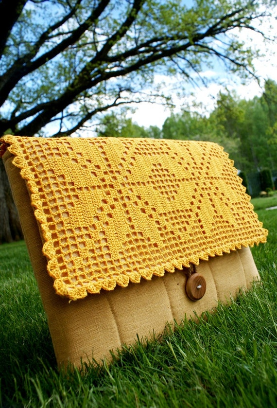 Laptop sleeve case Cover/Bag for 13 inch Macbook/ linen