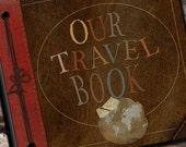 Our Travel Photo Album or Scrapbook