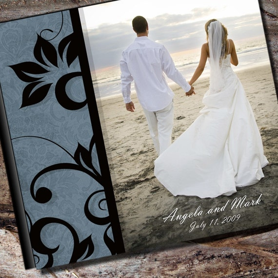 Personalized Colors Wedding Photo Album Scrapbook By AlbumOptions