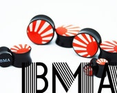 Japanese Hosoi RISING SUN 7/8 inch 22mm Plugs BMA