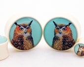 "Vintage Owl BMA Plugs 7/16"" (11mm)"
