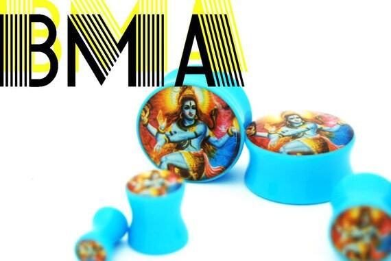 SHIVA GOD OF DESTROYER 2g 6mm Plugs BMA
