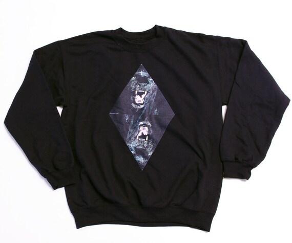 Crewneck Sweater // Black Panther Large