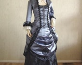 Custom Made Victorian Bustle Dress / Gown