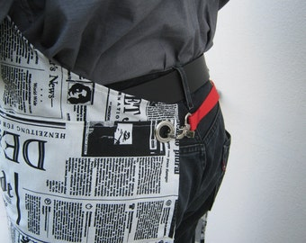 the NEWSPAPER APRON,unisex, Kitchen and Dining, Home and Living, under 50 usd