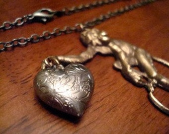 Love Monkey Necklace