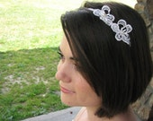 Lacy Daisy headband