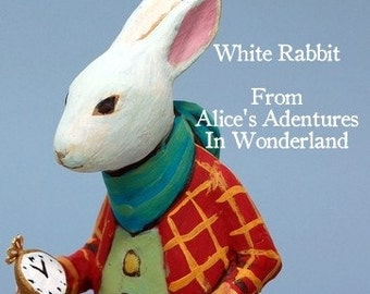 White Rabbit - Limited Edition Doll