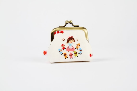 Deep baby - Snow white and the dwarves - metal frame purse