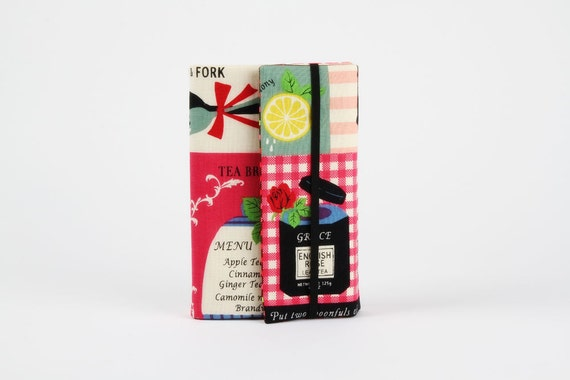 Adjustable paperback book cover - Tea goods