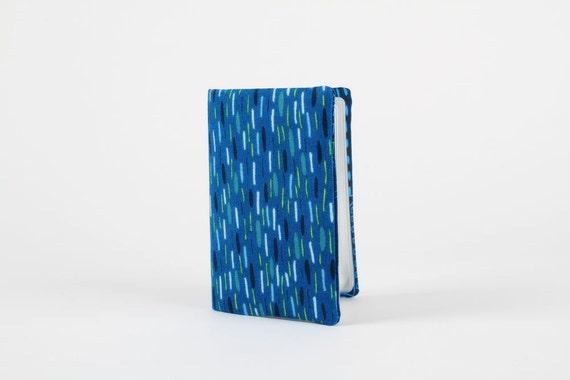 Card holder - Traffic jam in blue