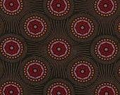 Innocent Crush BUBBLE BURST Rich Brown by Anna Maria Horner for Free Spirit Fabrics - 1 yard