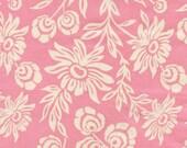 Handpicked Daisies Modern Meadow Pink Fabric by Joel Dewberry - 1 yard