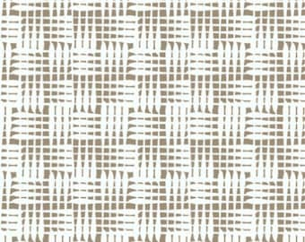 Dazzle Basketweave Grey Gray Taupe by Melissa Averinos for Andover Fabrics - 1 yard