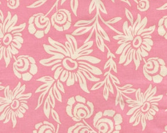 Handpicked Daisies Modern Meadow Pink Fabric by Joel Dewberry - 1 yard