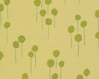Nest Berries Sage Green by Valori Wells for Free Spirit Cotton Fabric - 1 yard