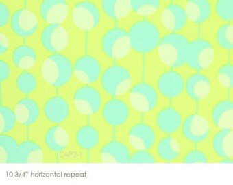 Midwest Modern Martini Lime Green Amy Butler Westminster Fabrics - 1 yard