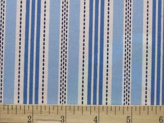 AMELIA in Blue Stripe by Timeless Treasures Fabric - 1 yard