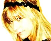 CROCHET PATTERN -  Princess Headband