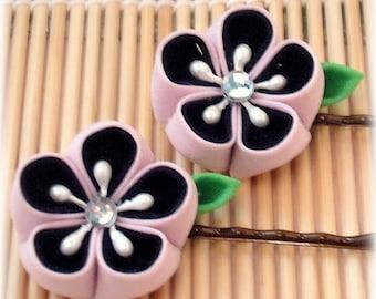 Sweet Lolita Japanese Kanzashi  Bobby Pins