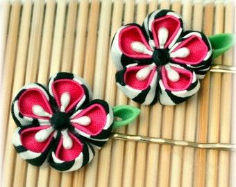What a Flirt Japanese Kanzashi Bobby Pins