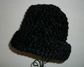 Hand Crocheted Warm Chenille Hat