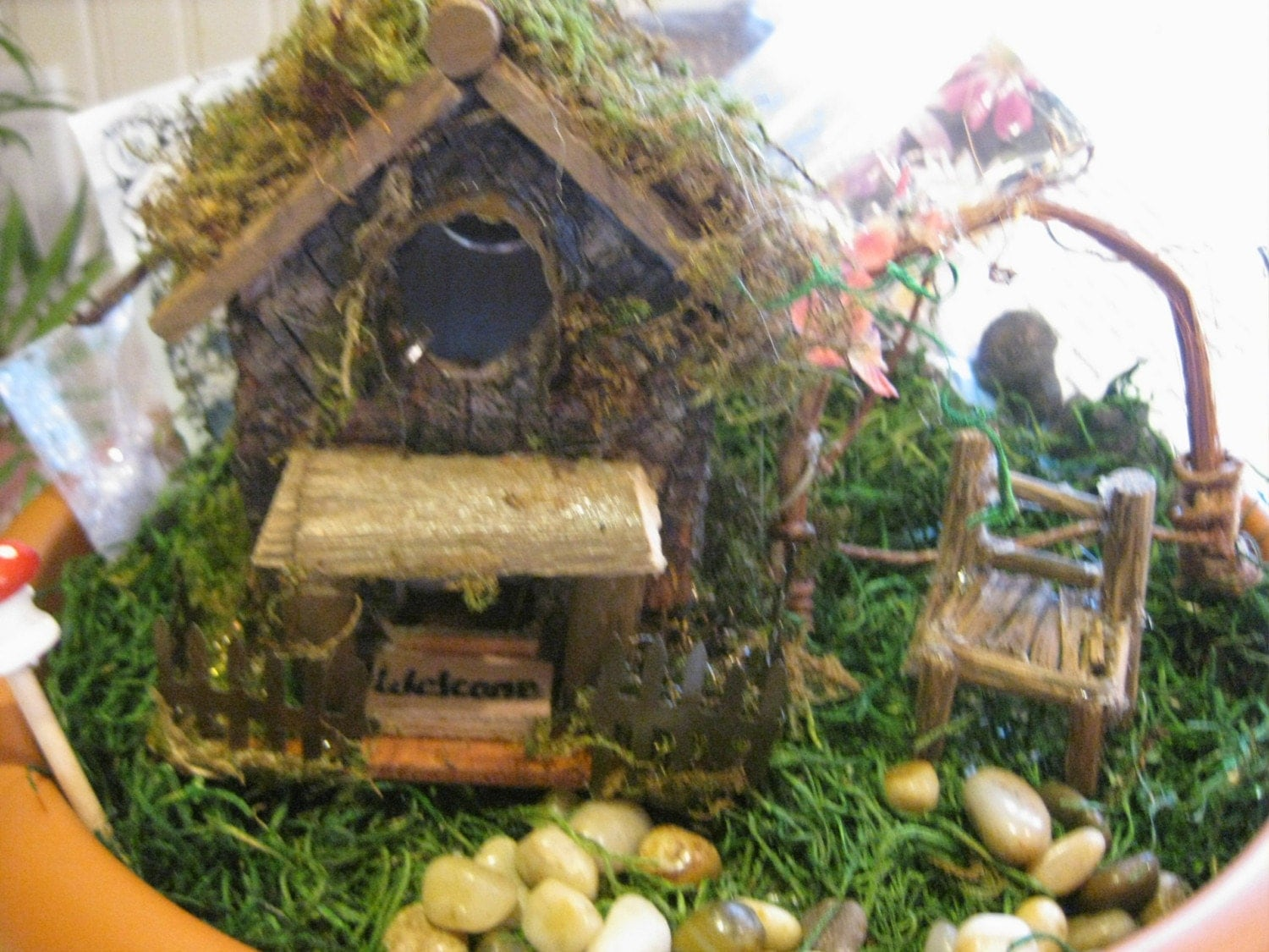 Complete Fairy Garden Starter Kit 2 by CLOUDFAIRY on Etsy